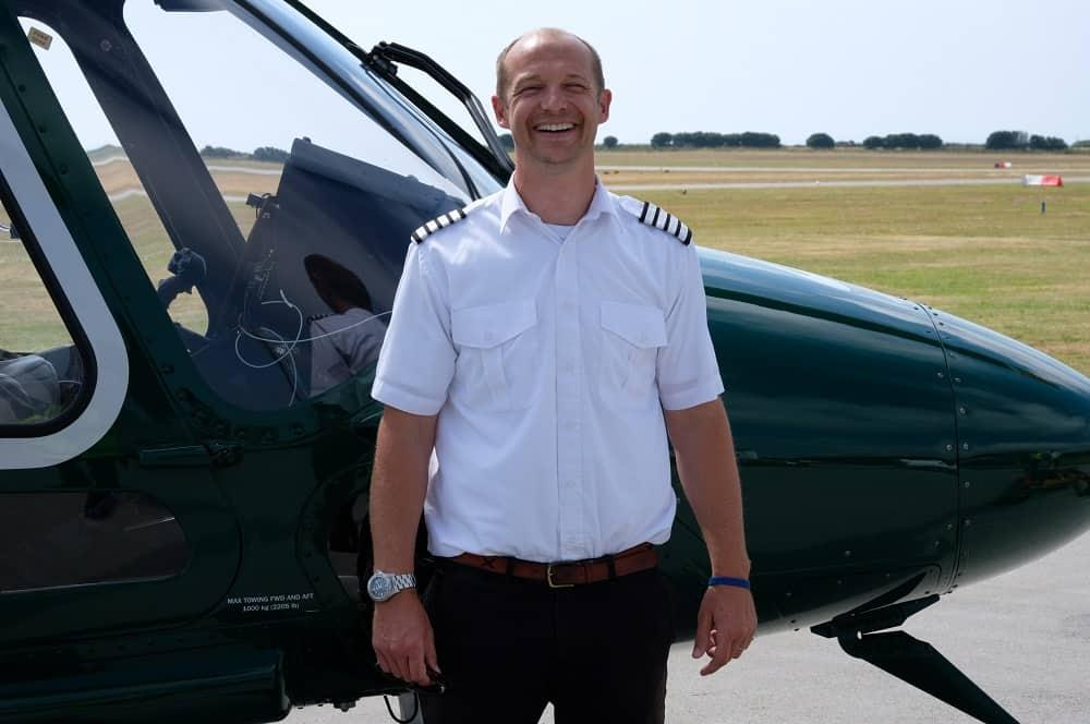 Adam Smith - Island Helicopters - Pilot