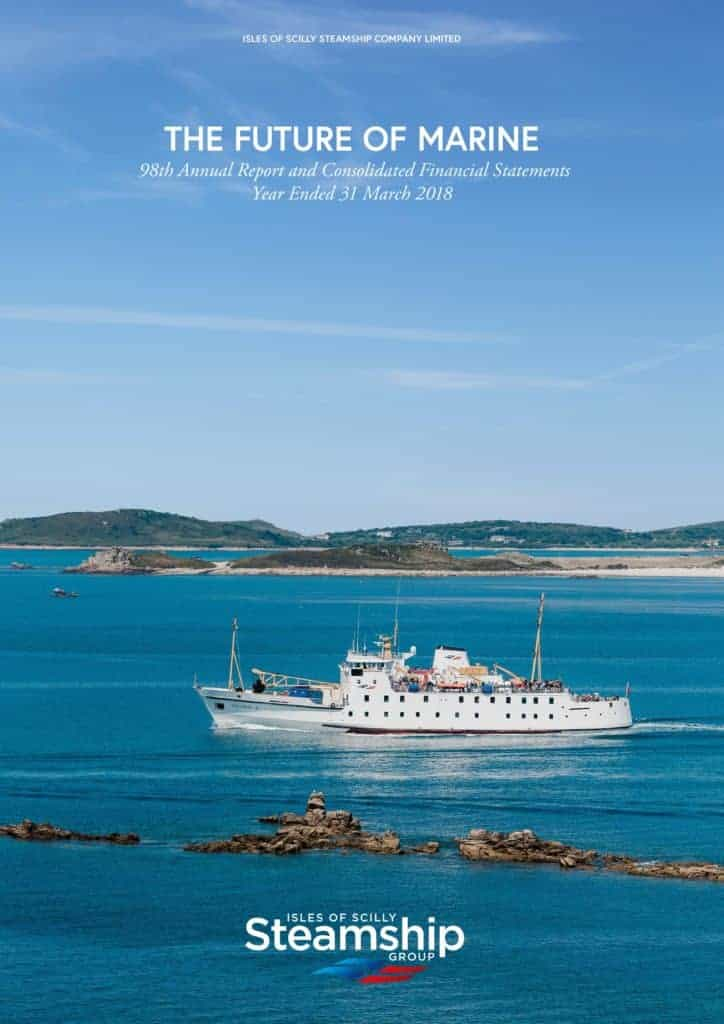 Isles of Scilly Steamship Company Annual Reports