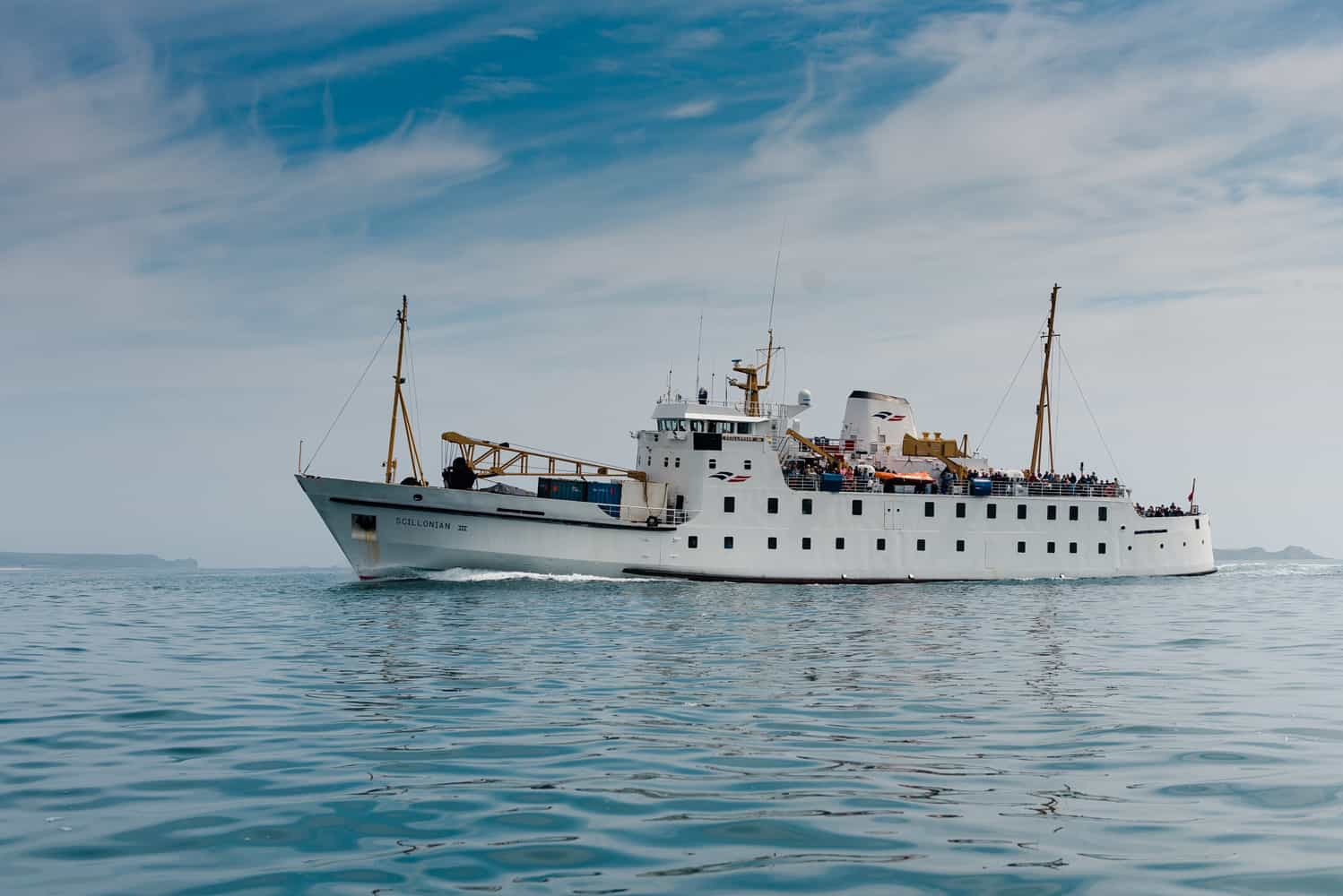 Scillonian III Passenger Ferry, Isles of Scilly