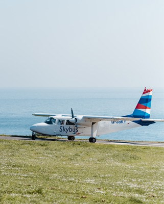 Skybus - St. Mary's Airport, Isles of Scilly