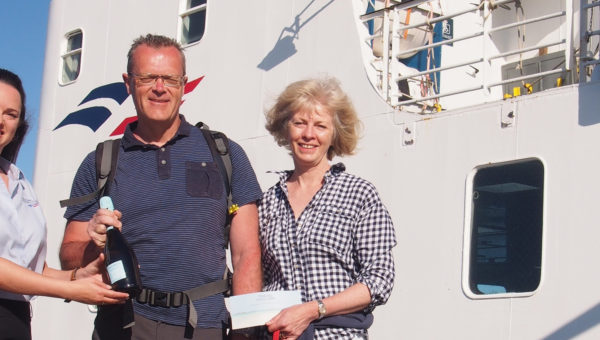 4.5 millionth passenger heads to the Isles of Scilly