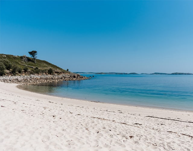 Beach on St-Marys in Summer - Isles of Scilly