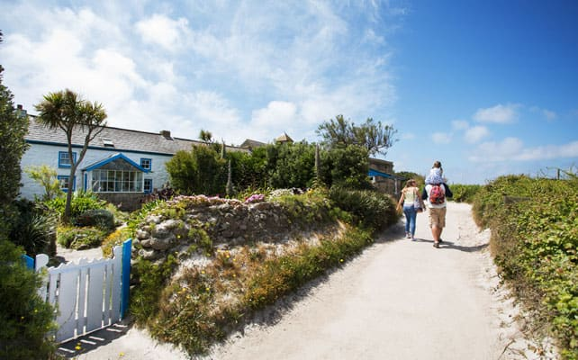 Cottage on St. Agnes, Isles of Scilly