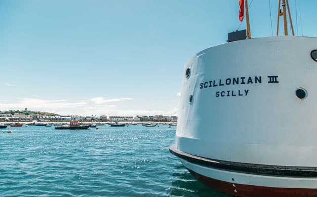 Scillonian Ferry at St. Mary's Quay, Isles of Scilly Travelvel
