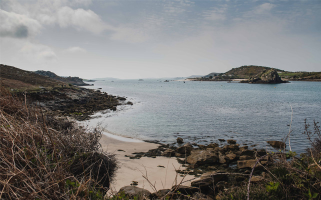 Autumn view from Tresco, Isles of Scilly