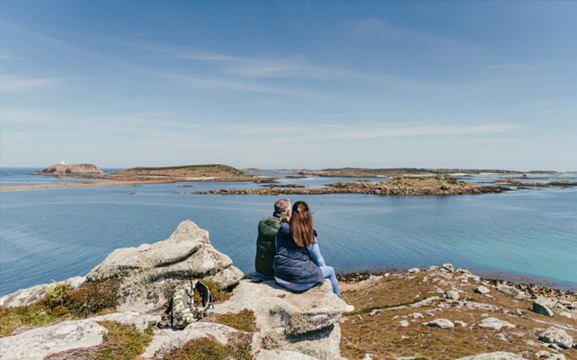 Autumn views from Tresco, Isles of Scilly