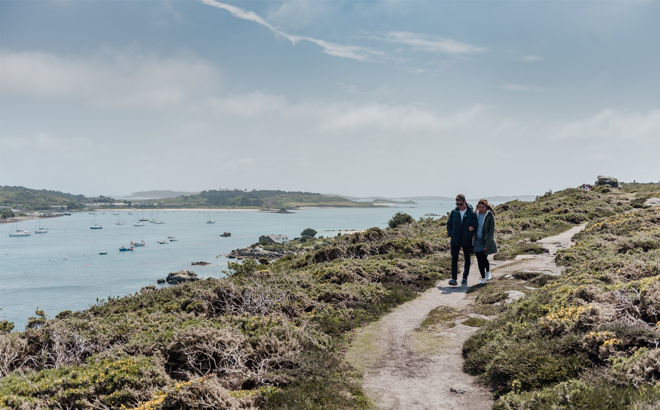 Autumn views from Bryher, Isles of Scilly