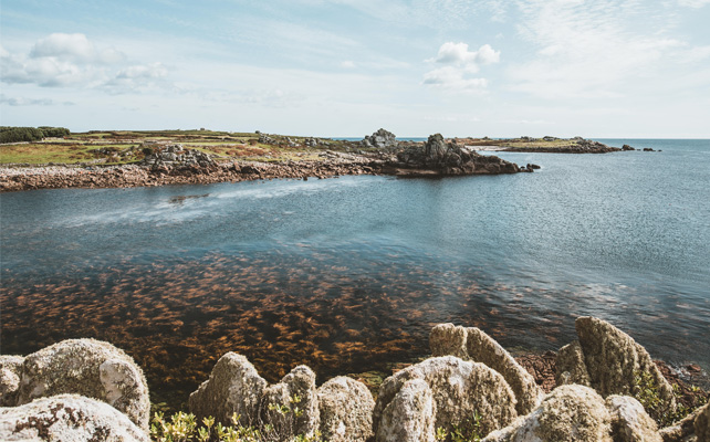 Autumn views on St. Agnes, Isles of Scilly