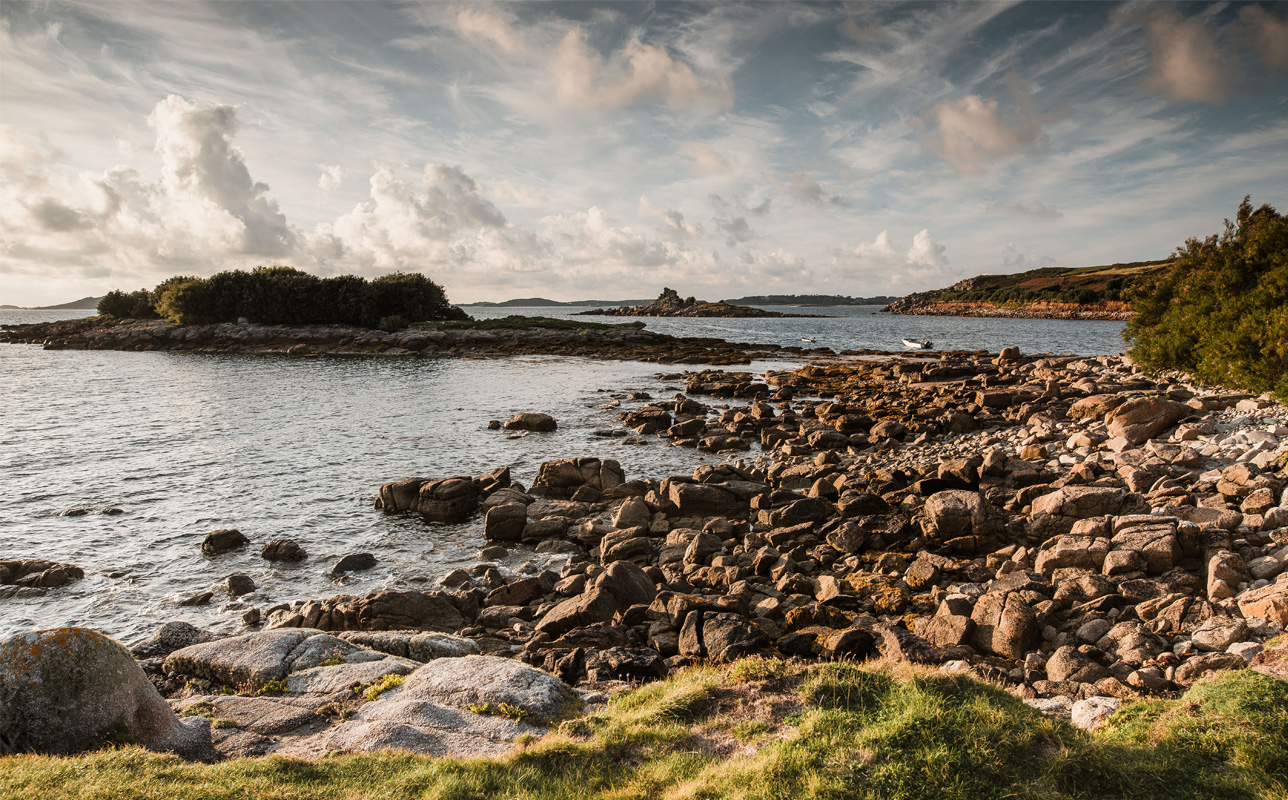 Autumn views on St. Mary's, Isles of Scilly