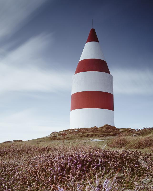 Daymark on St. Martin's, Isles of Scilly in September