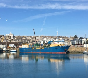 Gry Marithia - Freight Ship, Isles of Scilly