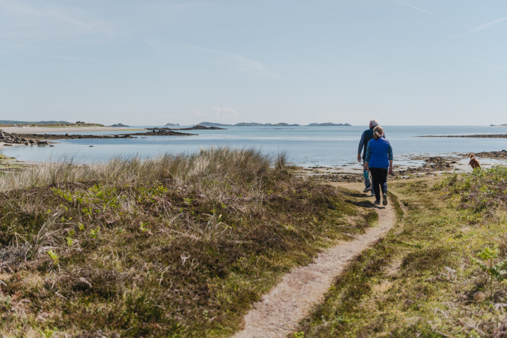 walking Tresco