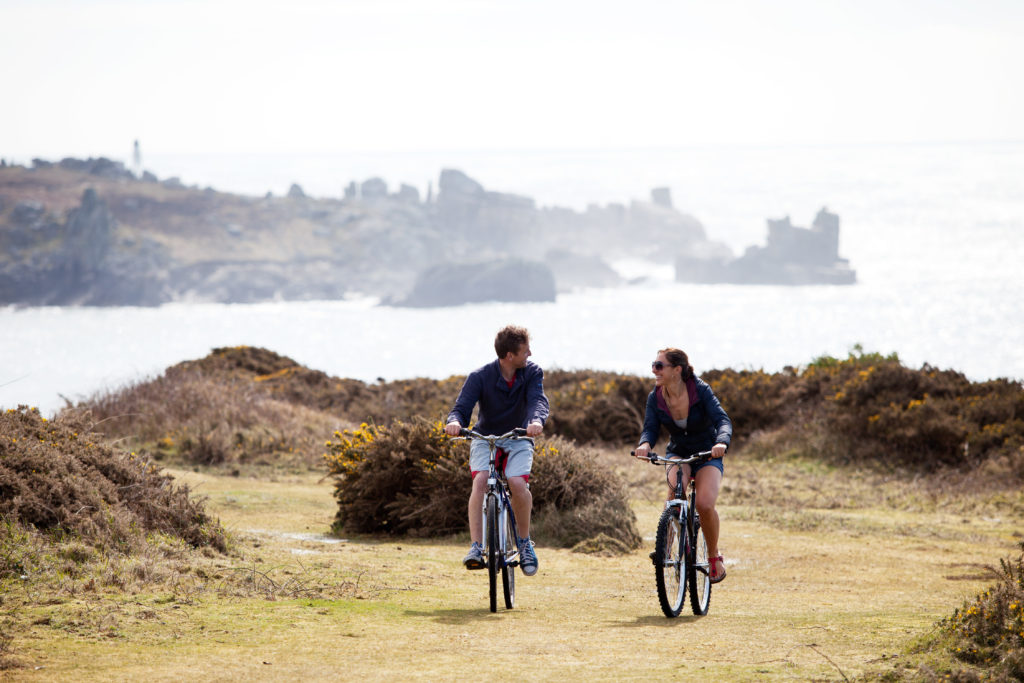 cycling Isles of Scilly