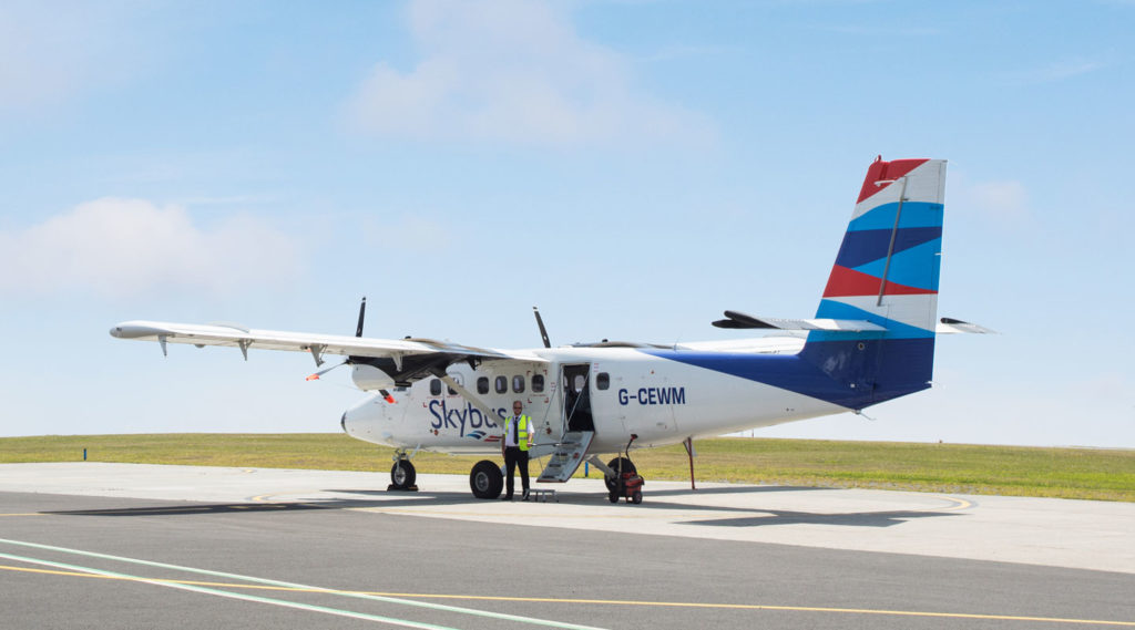 Skybus - Newquay to St. Mary's, Isles of Scilly - Twin Otter