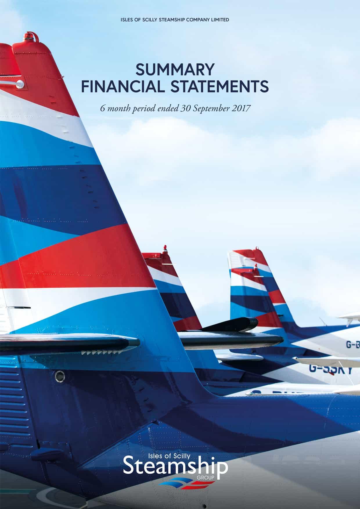 2017 Summary Financial Statements