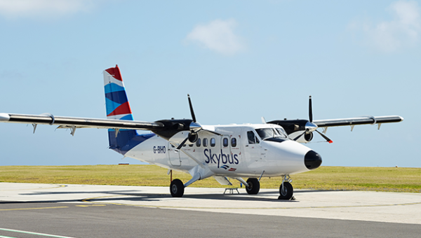 Skybus Flights Newquay to Isles of Scilly