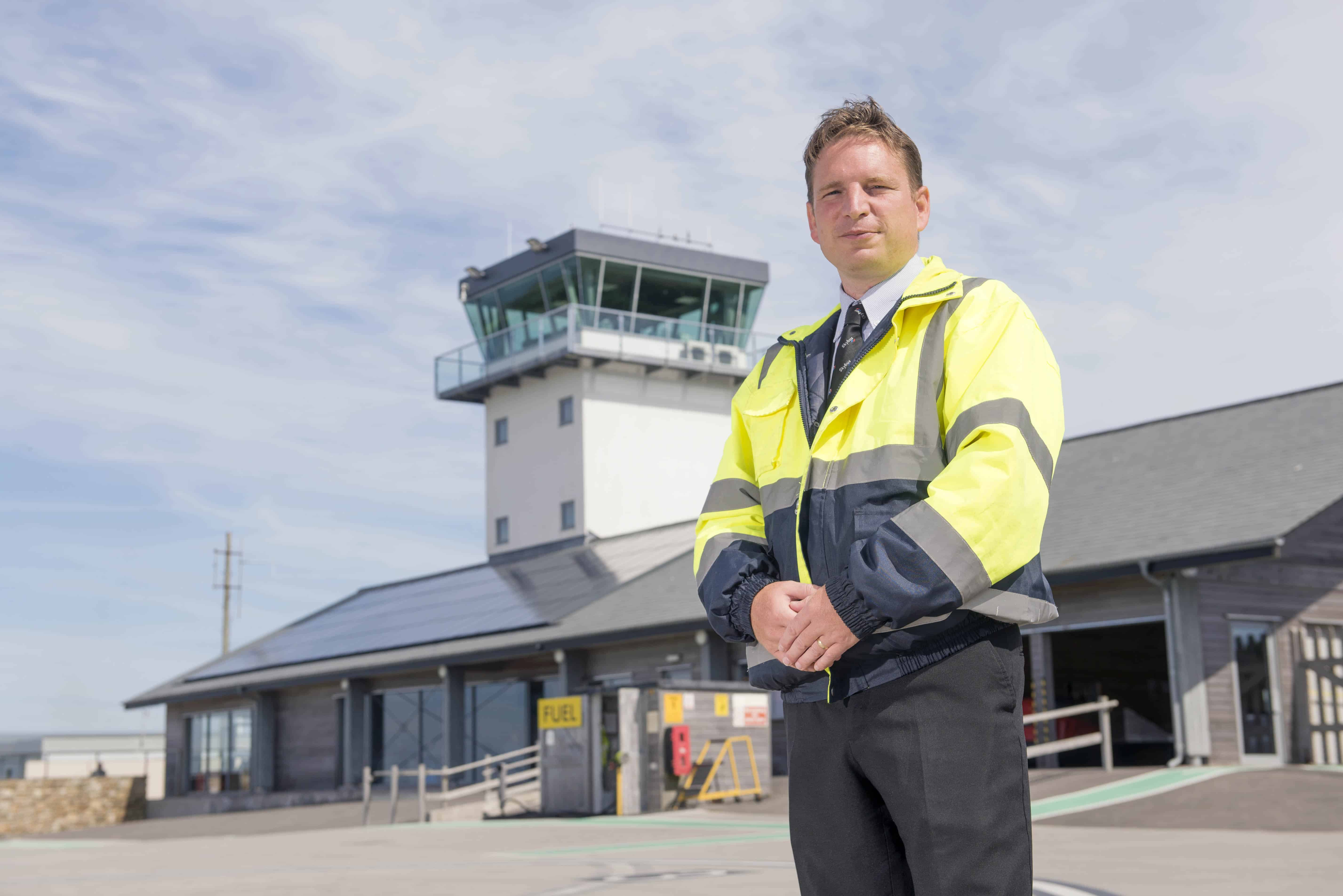Chris Pearson Land's End Airport Manager