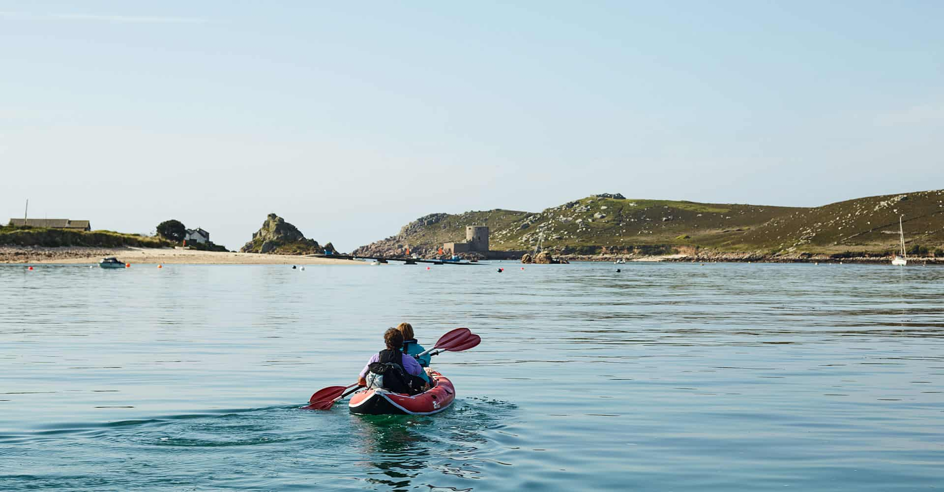 Kayak Hire - water sports  - Day Trip Ideas to the Isles of Scilly