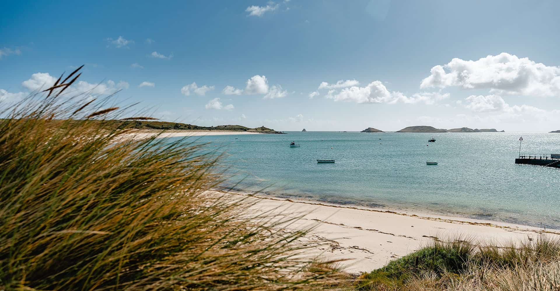 A beach on St Martins - Day Trip Ideas to the Isles of Scilly