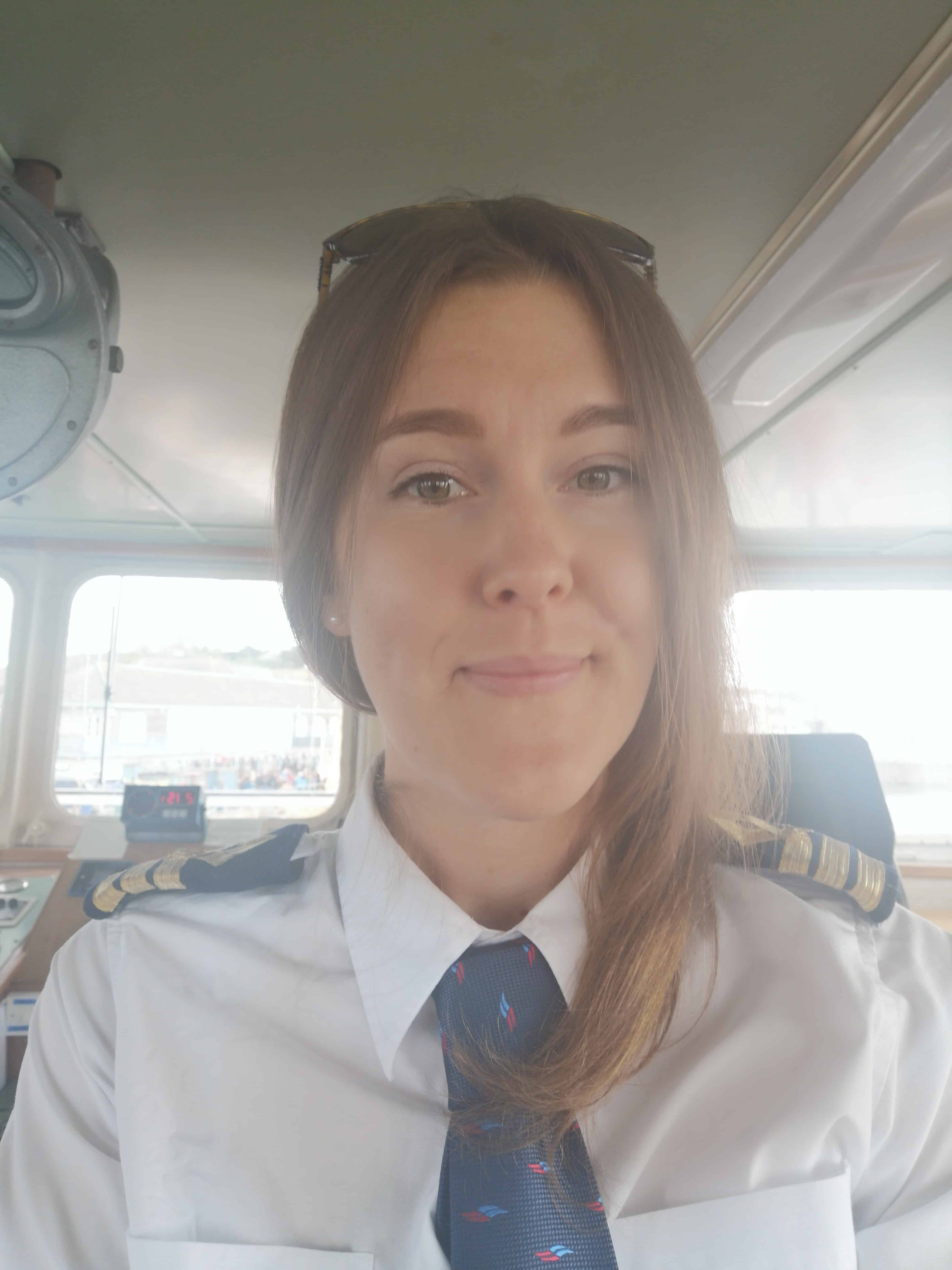IOST's first female Master Mariner